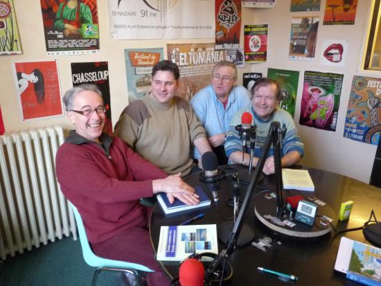 Dans les studios de Radio Alternantes
