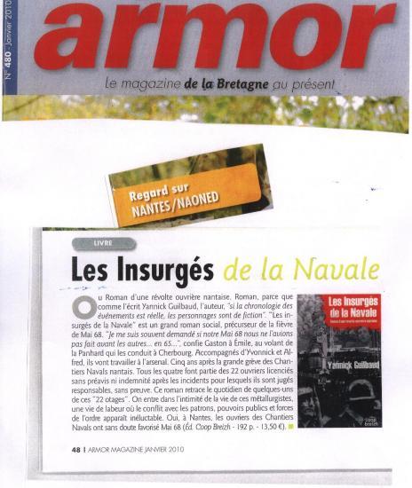 Armor Magazine - Janvier 2010 - Les Insurgés.jpg